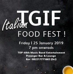 TGIF - FOOD FESTIVAL