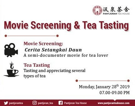 Tea Tasting & Movie Screening