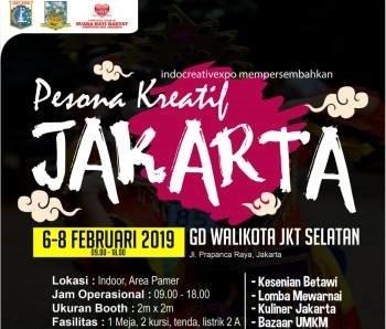 Pesona Kreatif Jakarta