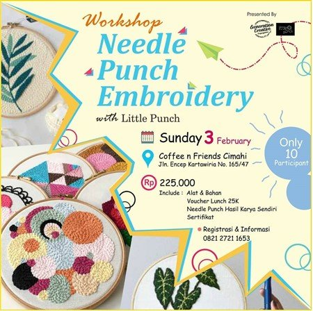 Needle Punch Embroidery