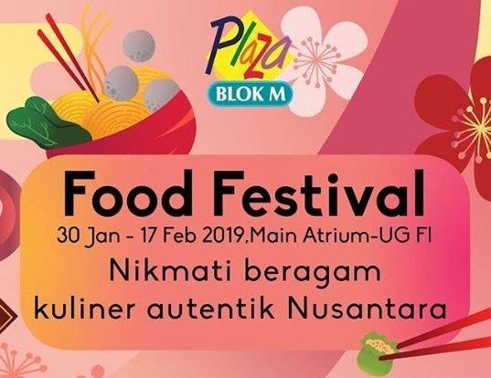 Food Festival di Blok M Plaza