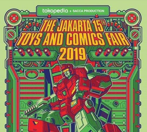 The Jakarta 15th Toys & Comics Fair