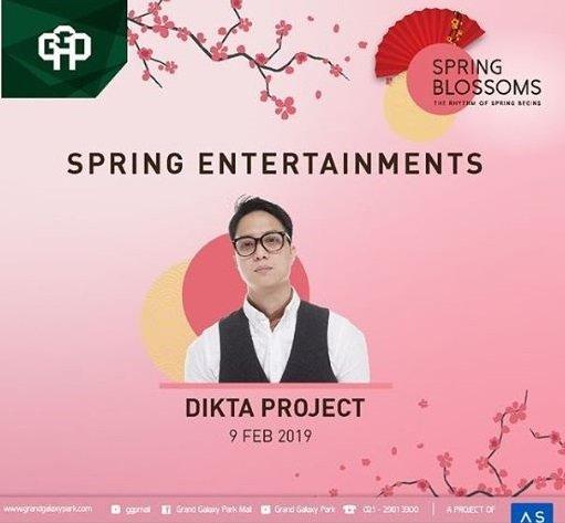 Penampilan Dikta Project
