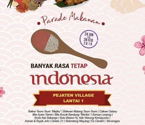 """Festival Kuliner: """"Banyak Rasa Tetap Indonesia"""""""