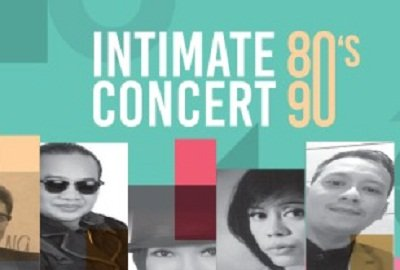 Intimate Concert 80 S - 90 S