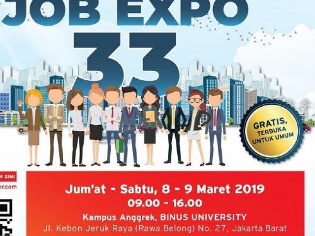 BINUS Job Expo 33