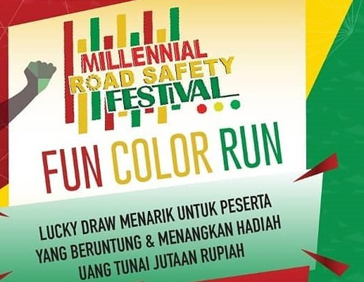 Millennial Road Safety Festival Color Run