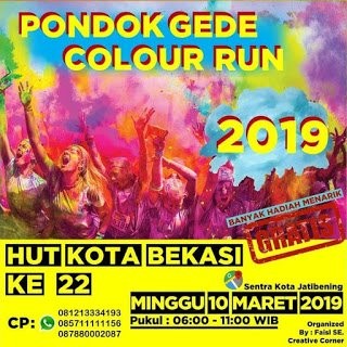 Pondok Gede Color Run