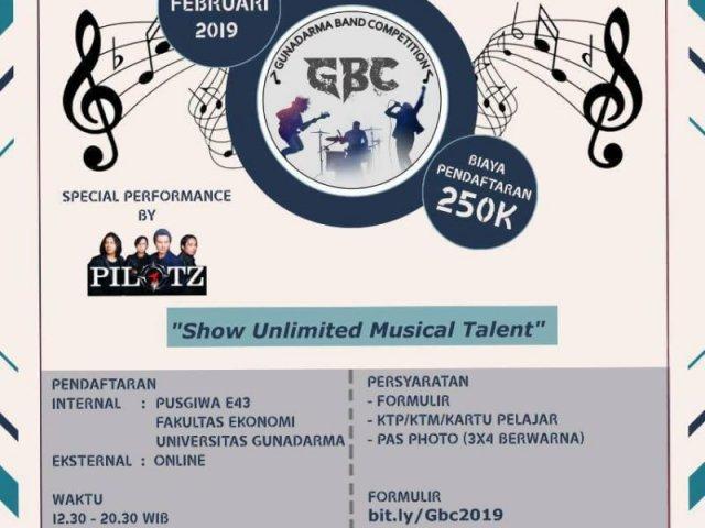 Gunadarma Band Competition