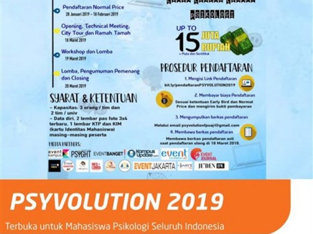 Psyvolution 2019