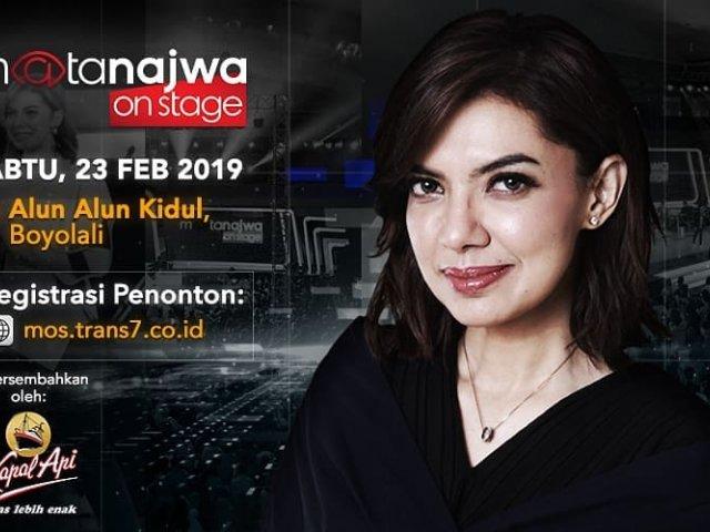 Mata Najwa On Stage