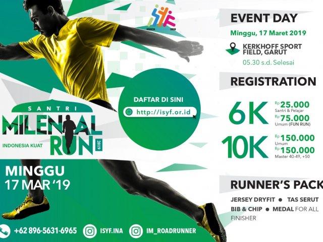 VIRTUAL RUN TIPS Santri Milenial Run 2019