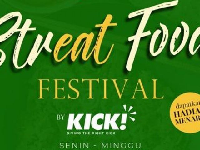 Bintaro Embarcadero Streat Food festival