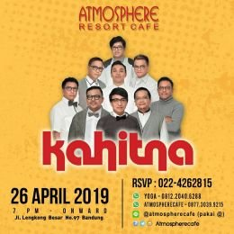 Kahitna At Atmosphere Resort Cafe