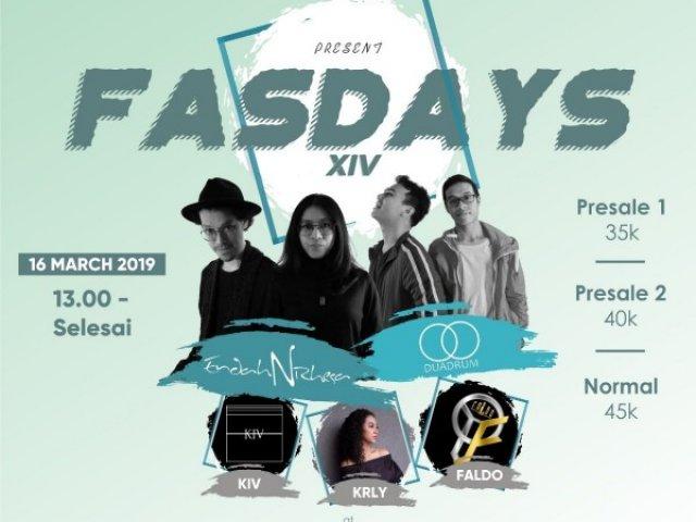 FASDAYS XIV