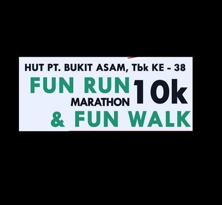 Fun Run Marathon & Fun Walk - HUT PT. Bukit Asam