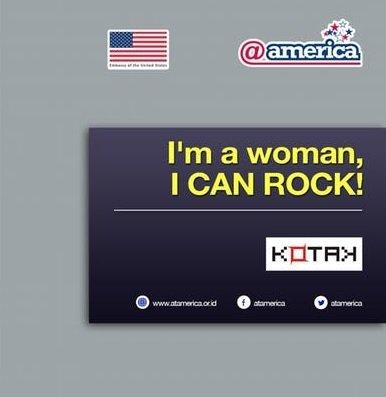 I'm a woman, I CAN ROCK!