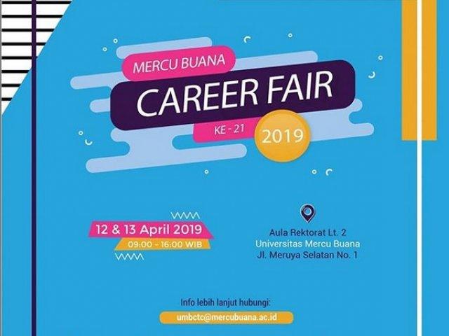 Mercu Buana Career Fair XIX