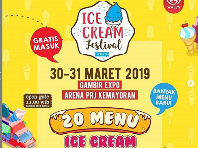 Ice Cream Festival Jakarta