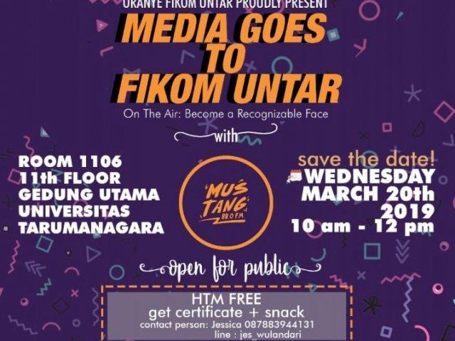 Media Goes to Fikom UNTAR