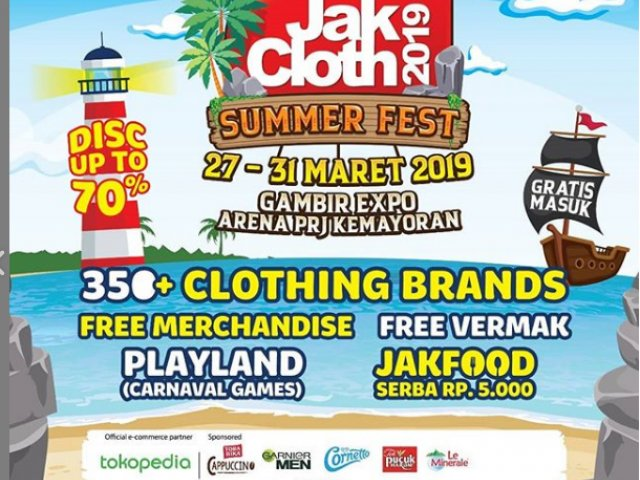 JAKCLOTH SUMMER FEST 2019 