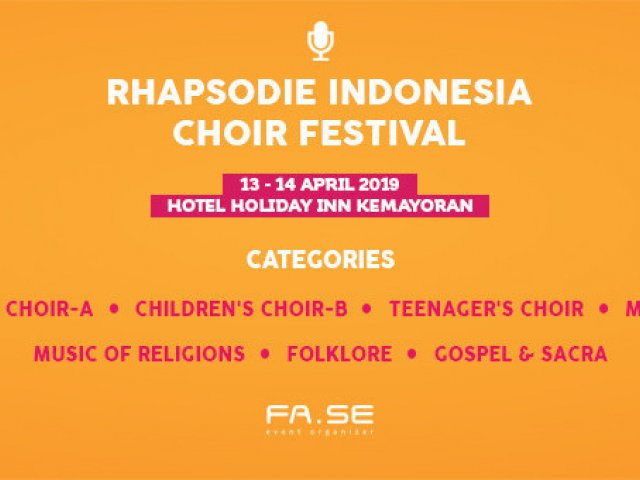 Rhapsodie Indonesia Choir Festival