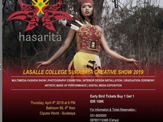 Lasalle College Surabaya Creative Show