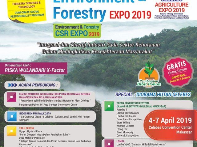 Indogreen Environment  and Forestry Expo 2019