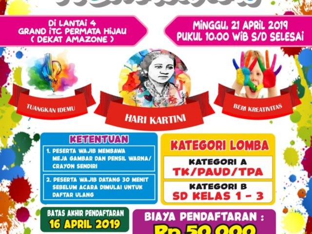 Lomba Mewarnai Hari Kartini Di Grand Itc Permata Hijau Jakarta