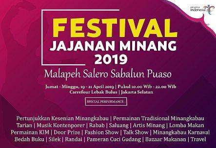 Festival Jajanan Minang 2019