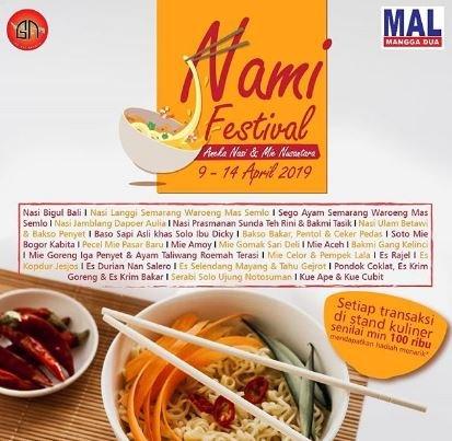 NaMi Festival - Aneka Nasi dan Mie Nusantara
