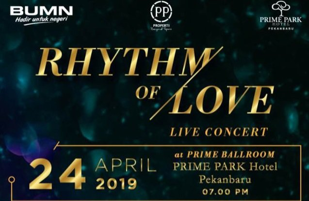 RYTHM OF LOVE - LIVE CONCERT WITH JUDIKA