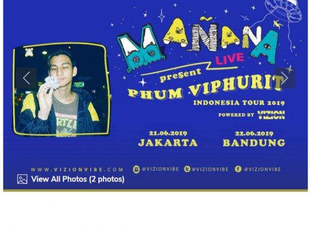 Phum Viphurit Live in Jakarta