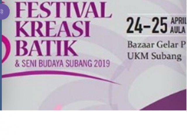 Festival Kreasi Batik dan Seni Budaya