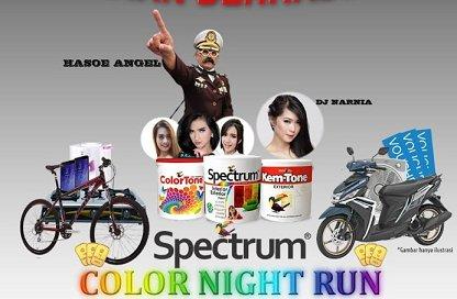 Spectrum Color Night Run
