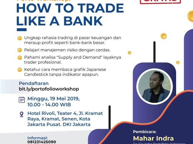 Porto Workshop : How to Trade Like a Bank