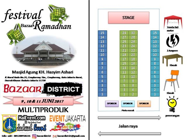 FESTIVAL BAZAAR RAMADHAN #1