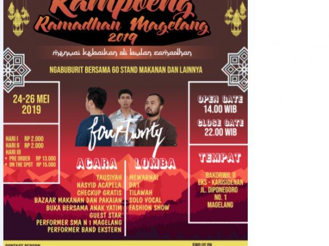 Kampoeng Ramadhan Magelang 2019