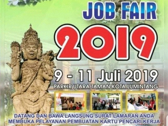 Job Fair Denpasar – Juli 2019