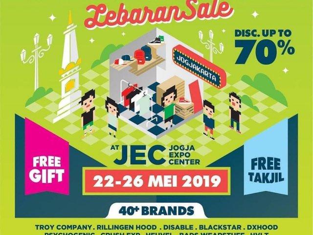 Indie Clothing Carnival LebaranSale Yogyakarta 2019