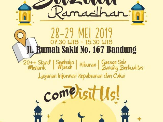 Bea Cukai Bandung Bazaar Ramadhan