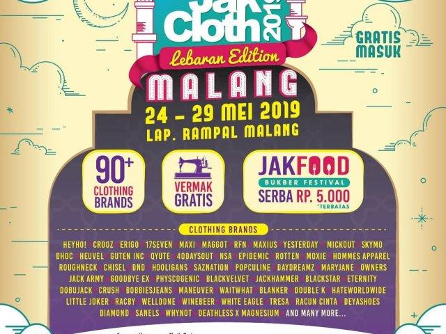 JakCloth Lebaran Edition 2019 - Malang