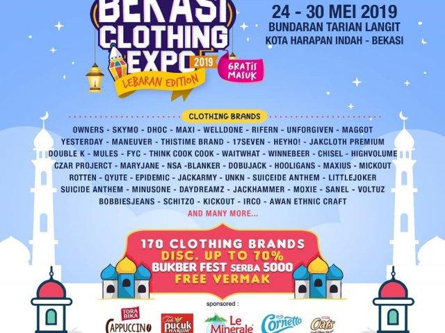 Bekasi Clothing Expo – Lebaran Edition 2019