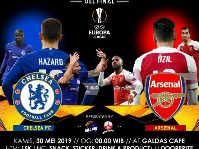 FINAL EUROPA LEAGUE Malang