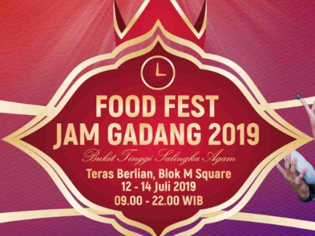 Food Fest Jam Gadang 2019