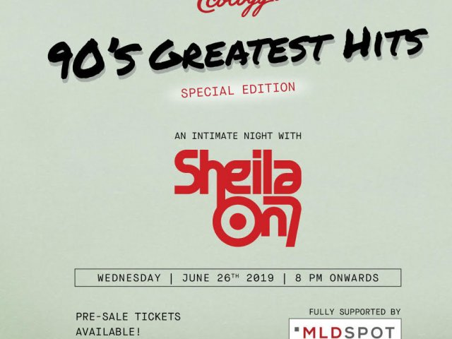 90's Greatest Hits SHEILA ON 7