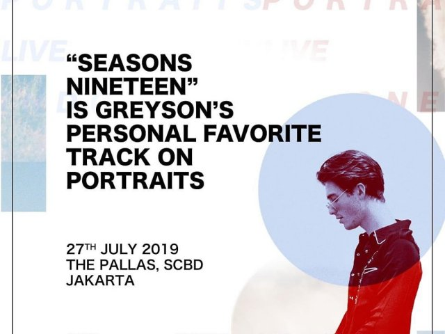 Greyson Chance Portraits Live in Indonesia