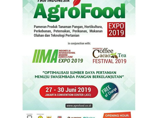 19th Indonesia Agro Food Expo 2019