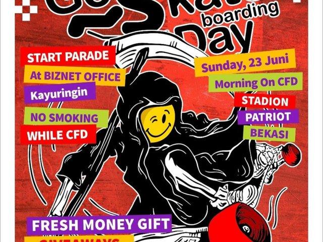 GO SKATEBOARDING DAY 2019 bekasi