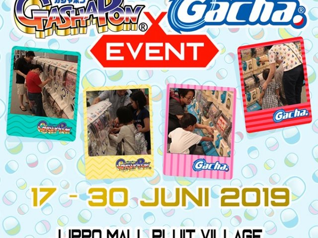 Gashapon X Gacha Event